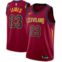 Nike Lebron James Replica Icon Road Jersey Kid's