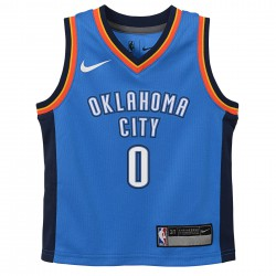 Nike Russell Westbrook Replica Icon Road Jersey