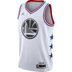 Nike Stephen Curry ASW Swingman Jersey WHT 19