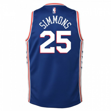 Nike Ben Simmons Swingman Icon Jersey Kid's