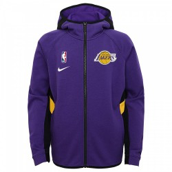 Nike Los Angeles Lakers ThermaFlex Travel Hoodie Showtime Kid's