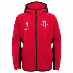 Nike Houston Rockets ThermaFlex Travel Hoodie Showtime Kid's