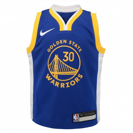 Nike Stephen Curry Replica Icon Road Jersey 2019 Kid's