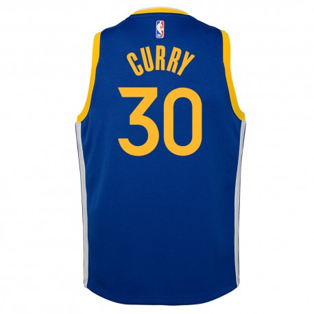 Nike Stephen Curry Replica Icon Jersey Little Kid's