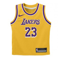 Nike Lebron James Replica Icon Jersey Little Kid's