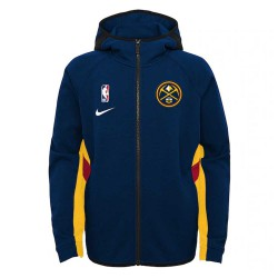 Nike Denver Nuggets Therma Flex Travel Hoodie Showtime Kid's