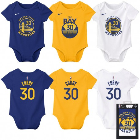 Nike Stephen Curry Bodysuit 3 PK Baby's