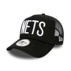 New Era NBA Brooklyn Nets Team Trucker Cap