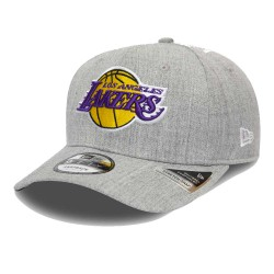 New Era NBA Heather Base Los Angeles Lakers Stretch-Snap