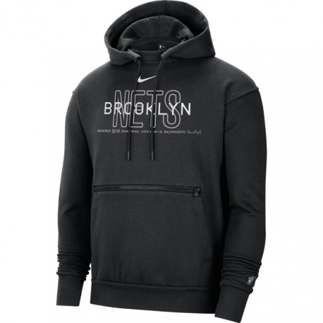 Nike Brooklyn Nets Courtside Pullover Hoodie