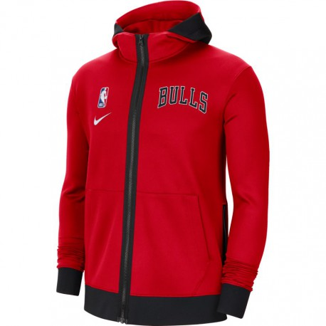 Nike Chicago Bulls Showtime Therma Flex Hoodie
