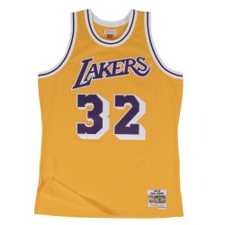 M&N Magic Johnson NBA Los Angeles Lakers Swingman Jersey