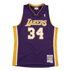 M&N Shaquil O'Neal NBA Los Angeles Lakers Swingman Jersey